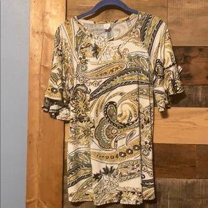 Tops - Small, short sleeve, dress shirt